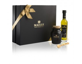 Truffle Dijon Mustard and Oil Gift Box Collection