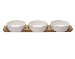 Pizza Passion Topping Platter 4 piece set