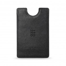 Card holder money clip, black